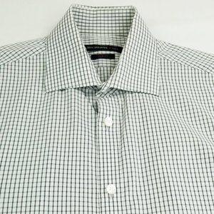 John Varvatos Slim Fit Sz 15 32/33 Logo Tag Shirt